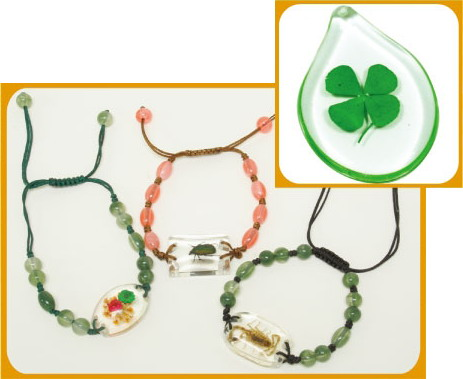 Buggin-Out - Bracelet, Four Leaf Clover